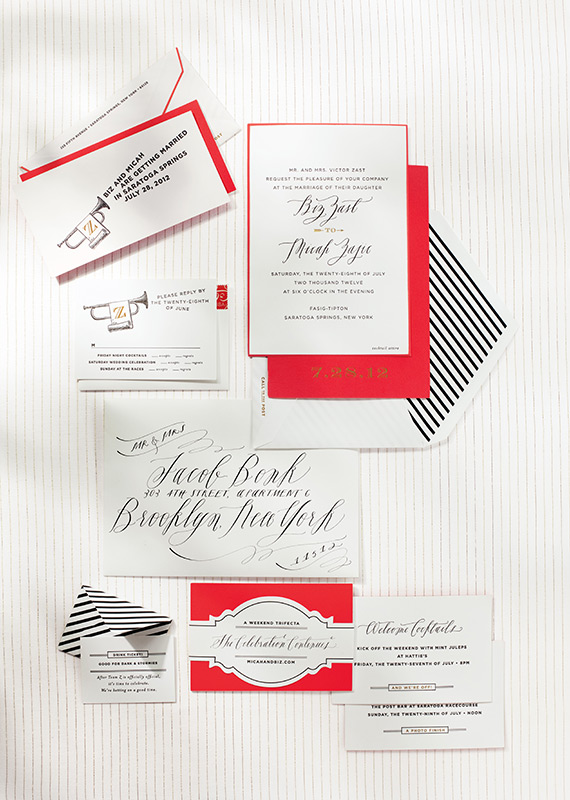 Kentucky Derby Wedding Invitations  |  Fairly Southern