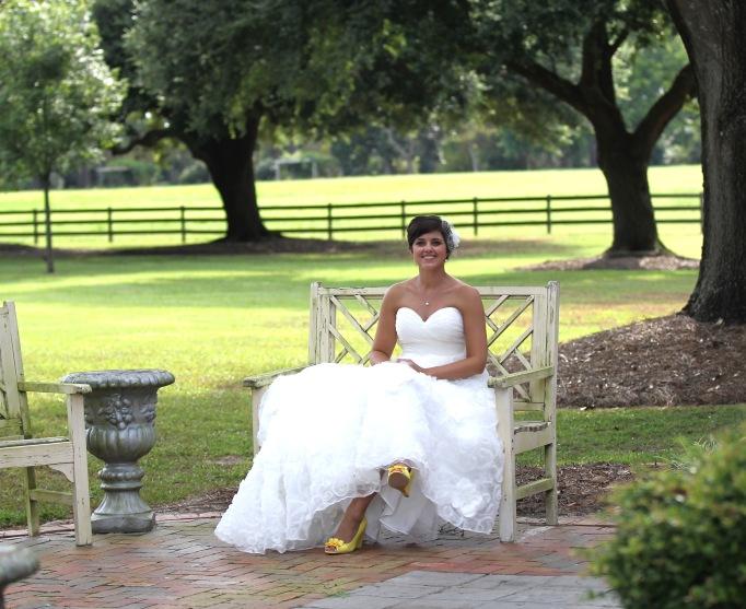 Rose Hill Bridal Portraits - Wedding Belles Blog