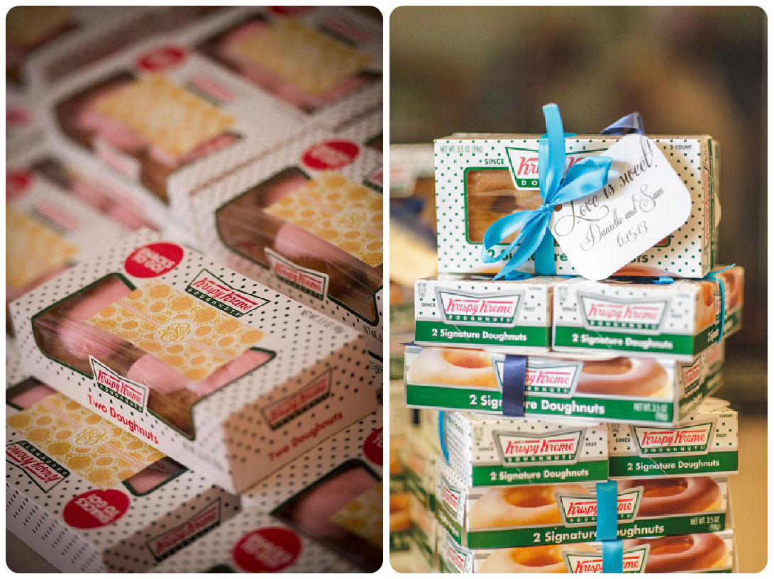 image gallery krispy kreme doughnut party With krispy kreme wedding favors