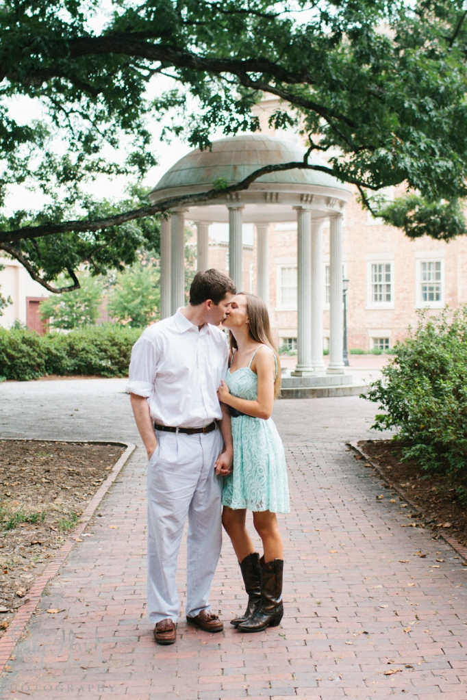 Real Chapel Hill Engagement - Fairly Southern