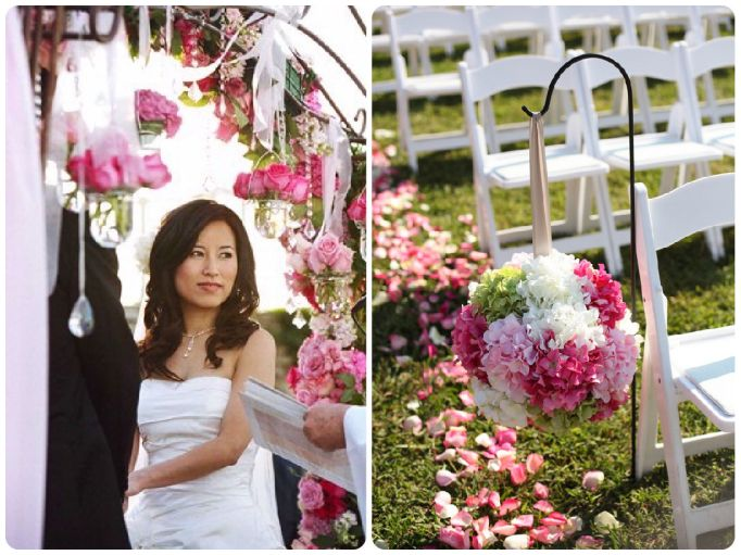 Lilly Pulitzer-Inspired Wedding Ceremony - Wedding Belles Blog