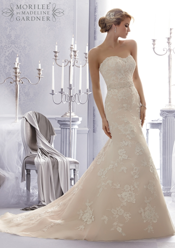 Style 2676 by Mori Lee - Wedding Belles Blog
