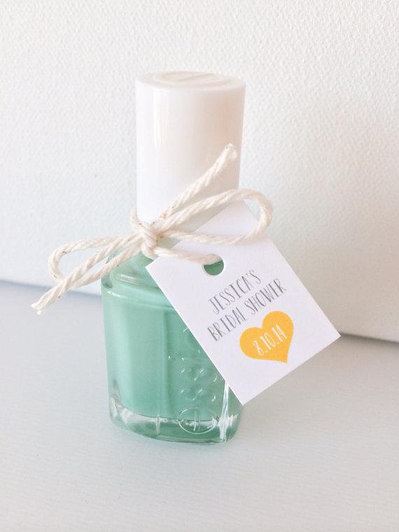 Nail Polish Bridal Shower/Bachelorette Favor - Wedding Belles Blog