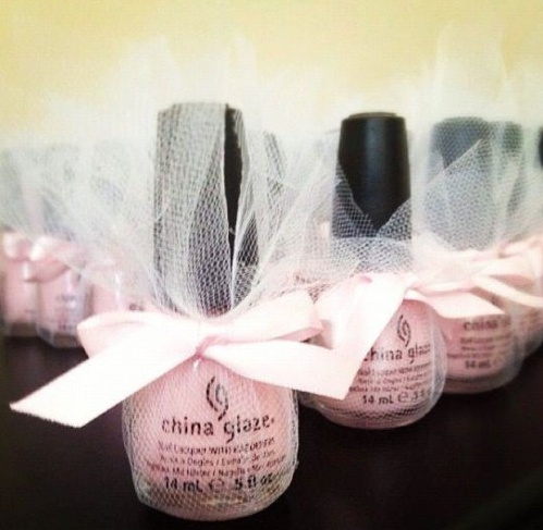 Nail Polish Bridal Shower/Bachelorette Favor - Wedding Belles Blog