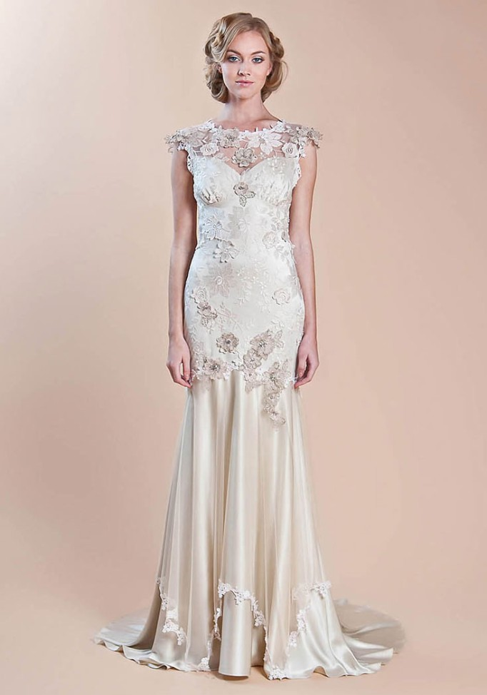 Viola by Claire Pettibone - Wedding Belles Blog