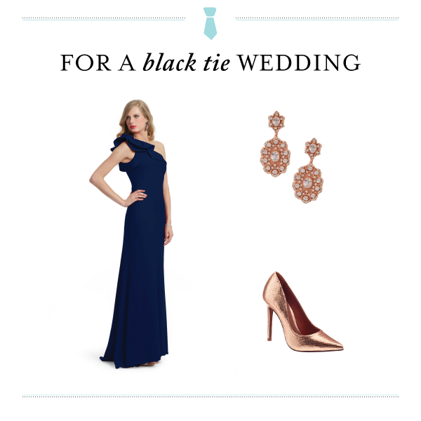 Black Tie Wedding Dress Code - Wedding Belles Blog