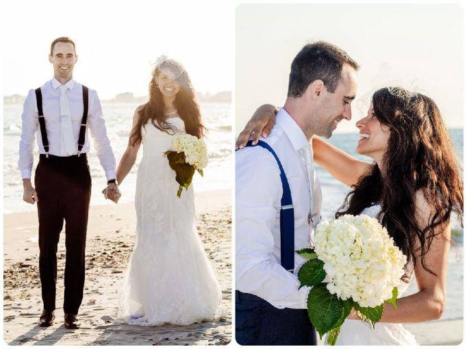 Real Wedding: Seaside Splendor in Early Spring - Fairly Southern