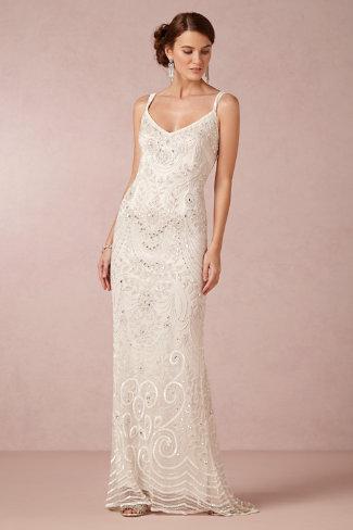 "BHLDN ""Elsa"" gown - Wedding Belles Blog"