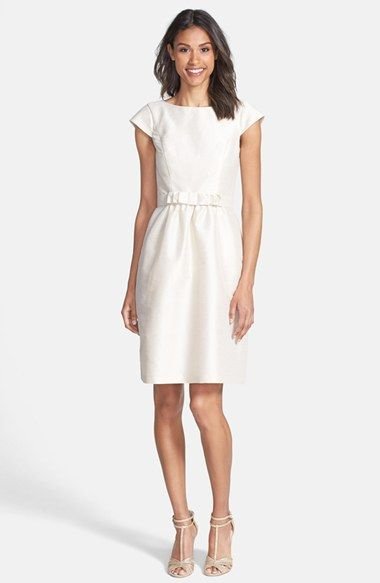 Woven Fit & Flare by Alfred Sung - Perfect Rehearsal Dinner LWD! - Wedding Belles Blog