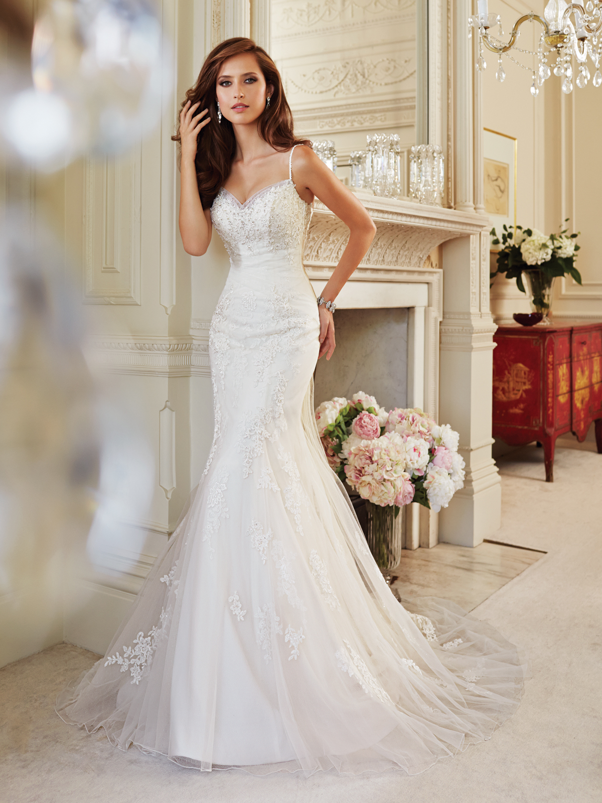 "Sophia Tolli style Y ""Cloris"" Wedding Belles Blog"