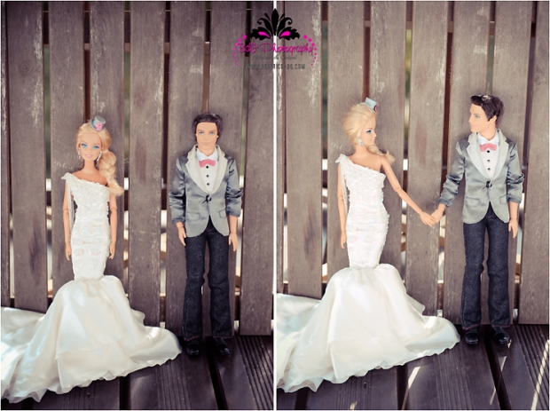 Barbie and Ken's Wedding via Loverly - Wedding Belles Blog