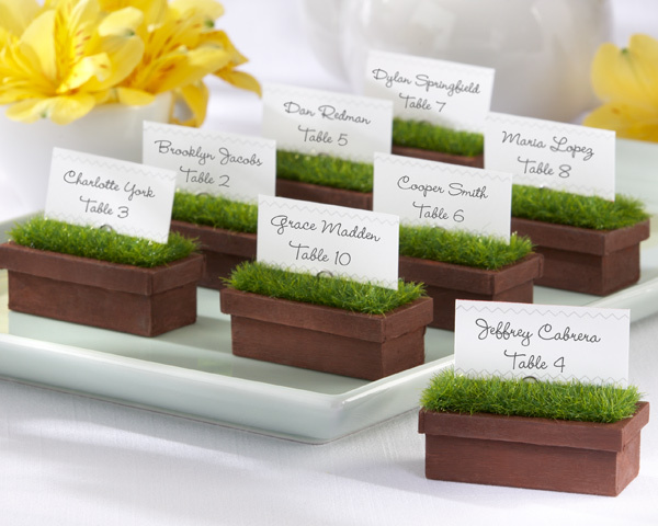 Window Planter Place Card Holder