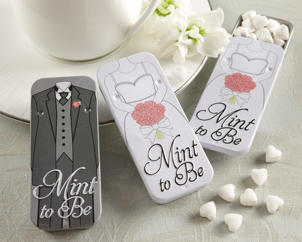 Bride and Groom Mint Tins