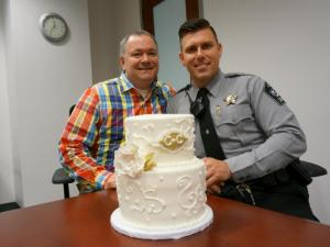 Chris and Chad - NC Marriage Equality - Wedding Belles Blog