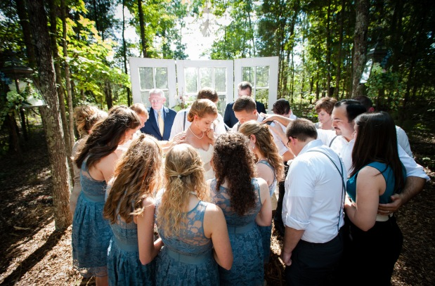 NC Countryside Wedding: Worship, Family, and Meaningful DIY Details - Wedding Belles Blog