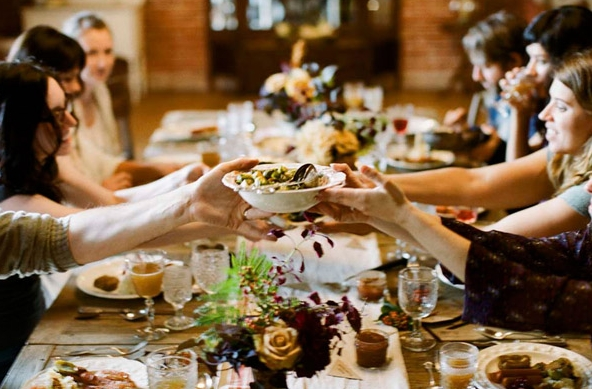 The Newlywed's Guide to Navigating the Holidays via Loverly - Wedding Belles Blog