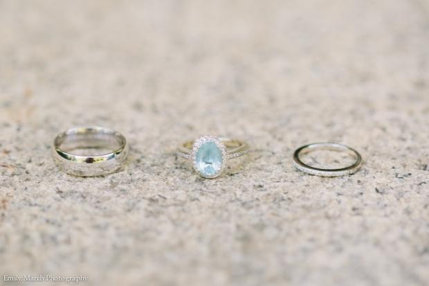 Oval Aquamarine Engagement Ring - Wedding Belles Blog