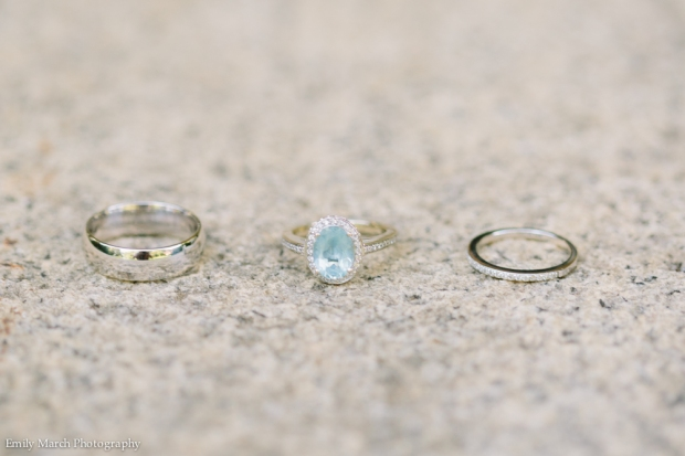 Oval Aquamarine Engagement Ring - Wedding Belles Blog