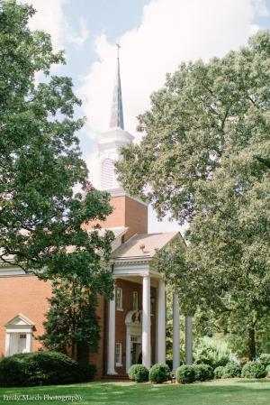 Jones Chapel in Raleigh, NC - Wedding Belles Blog