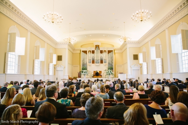 Classic Church Wedding Ceremony - Wedding Belles Blog