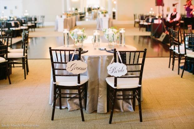 Sweetheart Table - Wedding Belles Blog