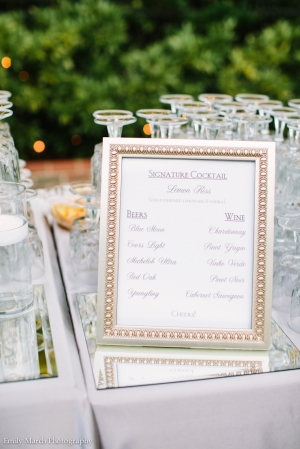 Bar Signage - Wedding Belles Blog