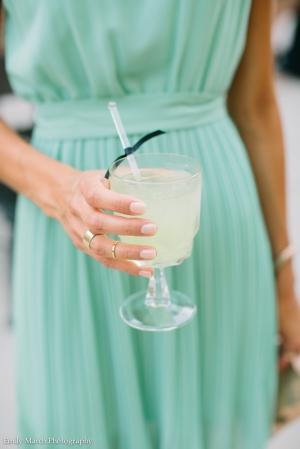 """""""Lemon Kiss"""" Signature Cocktail - Wedding Belles Blog"""