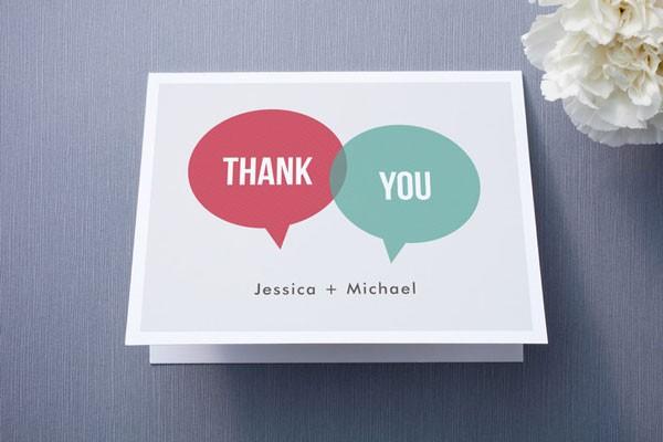 5 Wedding Thank You Note Tips via mywedding - Wedding Belles Blog