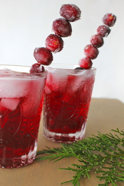 Christmas Wedding Cocktail - Wedding Belles Blog