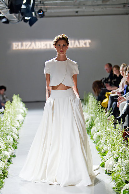 "Least Favorite Wedding Trend of 2014: Crop Top Wedding ""Dresses"" - Wedding Belles Blog"