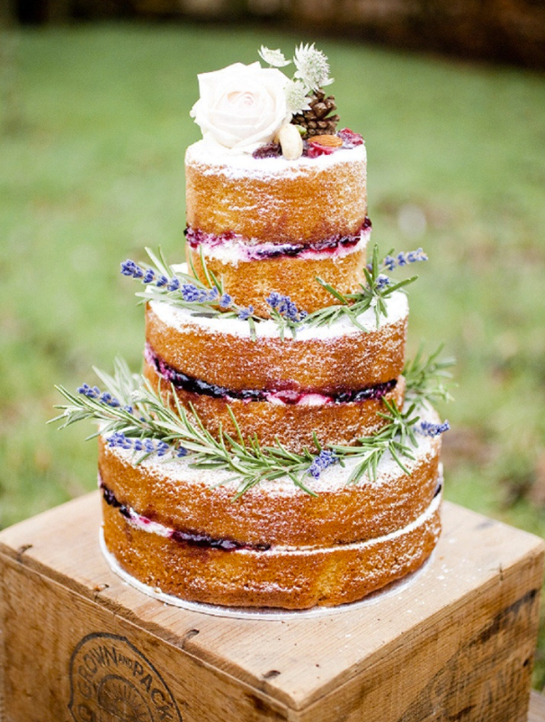 Least Favorite Wedding Trend of 2014: Naked Wedding Cakes - Wedding Belles Blog
