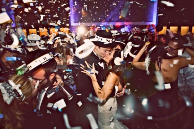 Glittery & Glitzy New Year's Eve Wedding Inspiration - Wedding Belles Blog