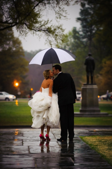 How to Brace Yourself for Unexpected Wedding Weather via Loverly - Wedding Belles Blog