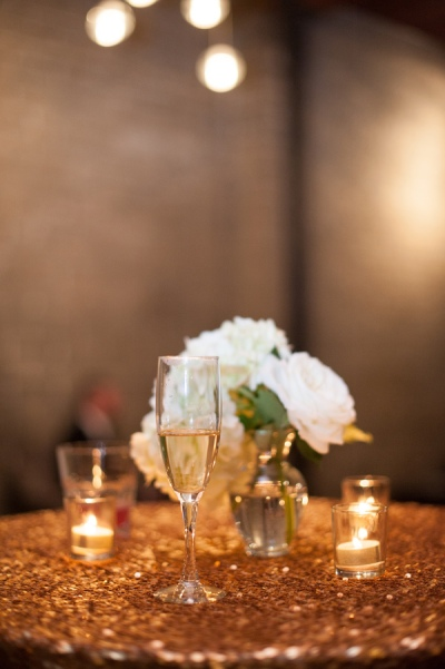 Glittery & Glitzy New Year's Eve Wedding Inspiration -Fairly Southern