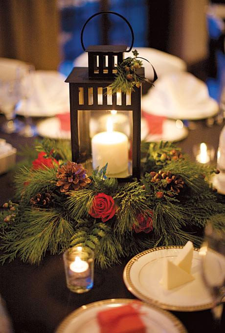 Pinecone and Evergreen Wedding Inspiration - Wedding Belles Blog