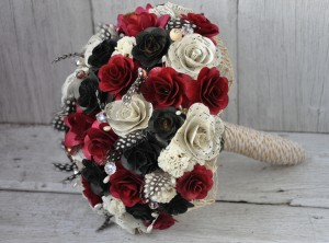 USC Gamecocks Wedding Bouquet - Wedding Belles Blog