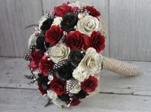 USC Gamecocks Wedding Bouquet - Wedding Belles Blog