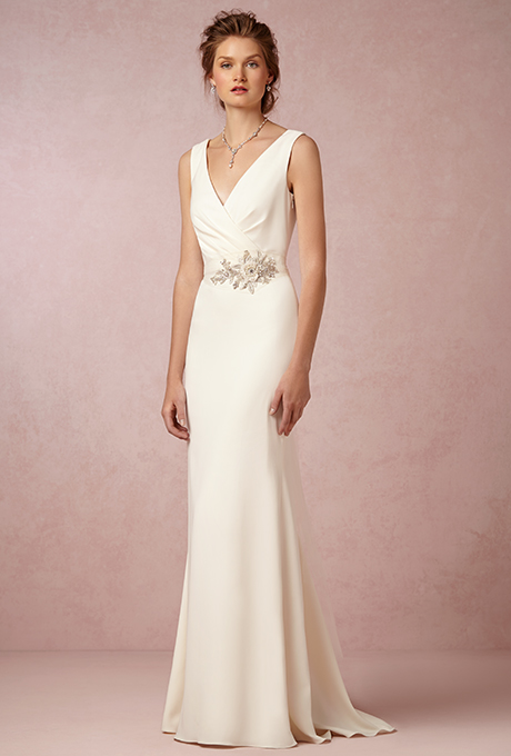 """Livia"" by Badgley Mischka, $800 - Wedding Belles Blog"