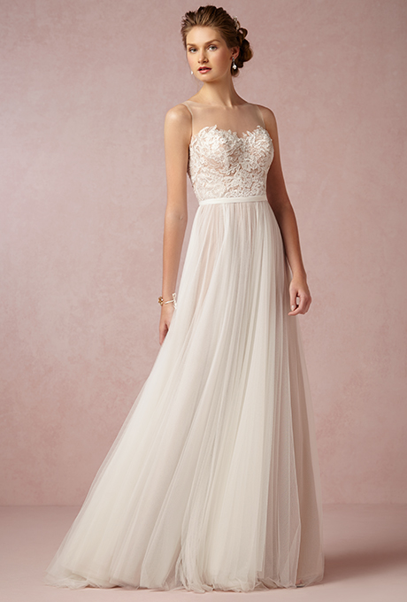 """Penelope"" by Love Marley by Watters, $970 - Wedding Belles Blog"
