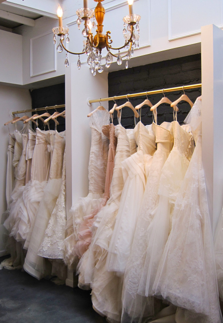 How to Brace Yourself for Wedding Dress Shopping via Loverly - Wedding Belles Blog