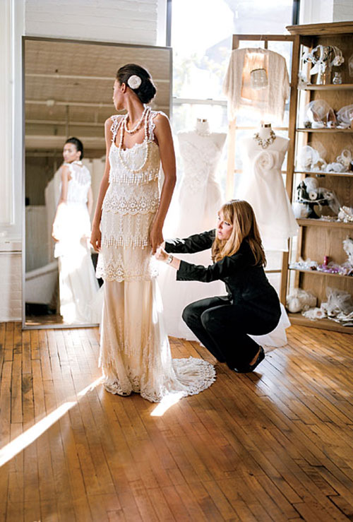 The Top 5 Things That Annoy Bridal Shop Consultants via Brides - Wedding Belles Blog