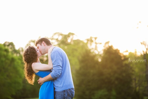 Vibrant NC Meadow Engagement Session - Wedding Belles Blog