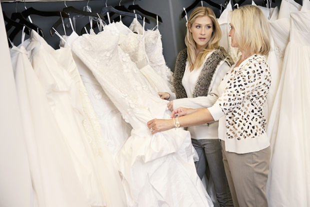 9 Things NOT to Say at a Friend's Wedding Dress Appointment via Brides - Wedding Belles Blog