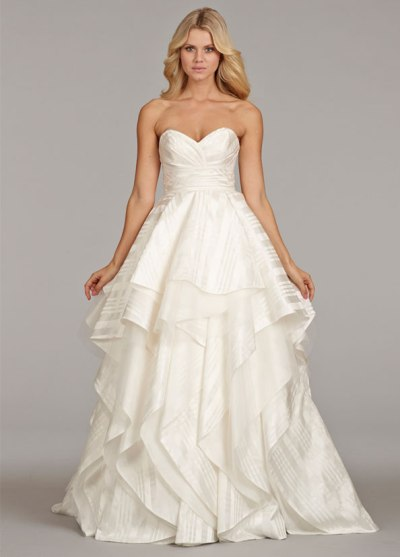 HP6403 Wedding Gown by Hayley Paige - Wedding Belles Blog