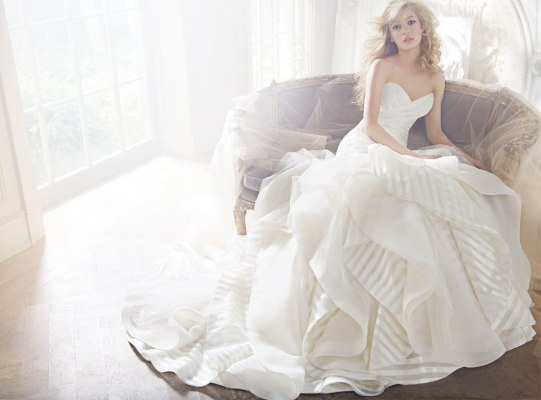 HP6351 Wedding Gown by Hayley Paige - Wedding Belles Blog