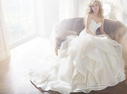 HP6351 Wedding Gown by Hayley Paige - Wedding Belles Blog