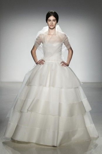 """Hilton"" Wedding Gown by Amsale - Wedding Belles Blog"