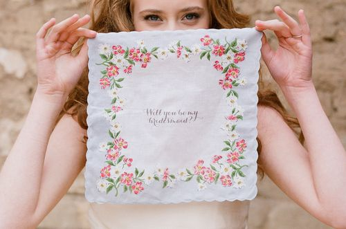 Wedding Chicks 24-Hour 40% Sale - Wedding Handkerchief - Wedding Belles Blog