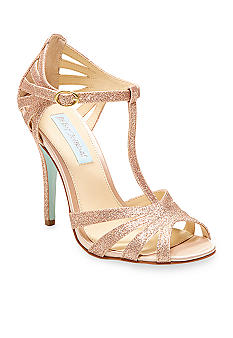 Betsey Johnson Tee Sandal - Wedding Belles Blog