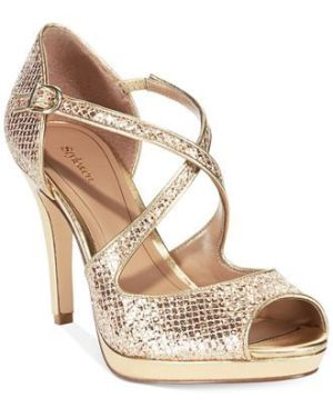 Style&co. Simmone Platform Evening Sandals - Wedding Belles Blog